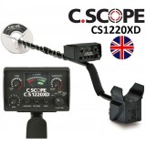 C.scope CS1220XD Metalldetektor